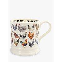Emma Bridgewater Hen & Toast 1 Pint Mug, Multi, 600ml