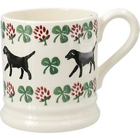 Emma Bridgewater Labrador And Clove Half Pint Mug, Multi, 310ml