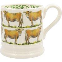 Emma Bridgewater Jersey Cow Half Pint Mug, Multi, 310ml