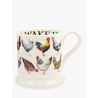 Emma Bridgewater Hen & Toast Half Pint Mug, Multi, 310ml