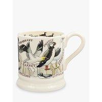 Emma Bridgewater Seabirds Half Pint Mug, Multi, 310ml