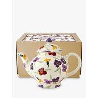 Emma Bridgewater Wallflower 4 Mug Teapot, Multi, 1.2l