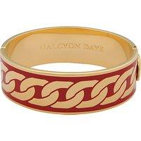 Halcyon Days Curb Chain Hinge Bangle
