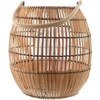 Fusion Bamboo Globe Lantern, Large