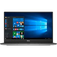 Dell XPS 13 Notebook, Intel Core i5, 8GB RAM, 256GB SSD, Full HD, 13.3 Screen, 7th Gen, Silver
