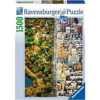 Ravensburger Divided City New York Jigsaw Puzzle, 1500 pieces