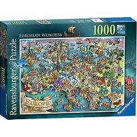 Ravensburger European Wonders Jigsaw Puzzle, 1000 pieces