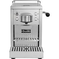 Dualit 85170 Classic Coffee Capsule Machine, Stainless Steel