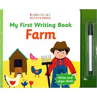 My First Writing Book Farm Childrens Book