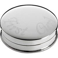 Carrs First Curl Box, Sterling Silver