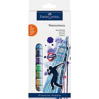 Faber-Castell Watercolour Paints Starter Kit, Pack of 12