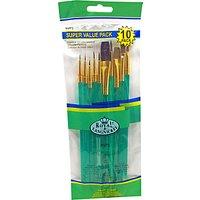 Royal & Langnickel Sable Paint Brush Set, Pack of 10