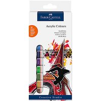 Faber-Castell Acrylic Starter Paints, Pack of 12