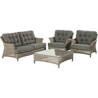 4 Seasons Outdoor Valentine Low Back 4 Seater Lounge Set