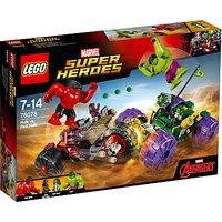 LEGO Marvel Super Heroes 76078 Hulk Vs Red Hulk