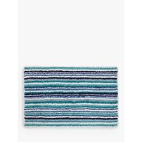 John Lewis Multi Stripe Reversible Bath Mat