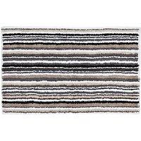 John Lewis Multi Stripe Reversible Bath Mat
