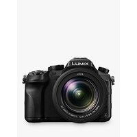 Panasonic LUMIX DMC-FZ2000 Bridge Camera, 20.1MP, 4K Ultra HD, 20x Optical Zoom, 3 Touchscreen