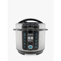 Pressure King Pro 14-In-1 6L Digital Pressure Cooker, Black / Chrome