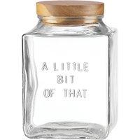 kate spade new york Little Bit of That Glass Jar, Medium