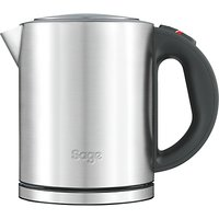 Sage by Heston Blumenthal the Compact Kettle, Brushed Stainless Steel