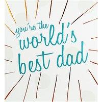Caroline Gardner World's Best Dad Father's Day Card