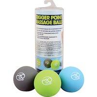Yoga-Mad Trigger Point Massage Ball Set, Multi