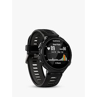 Garmin Forerunner 735XT GPS Multisport Watch with Wrist-based Heart Rate Technology, Black/Grey
