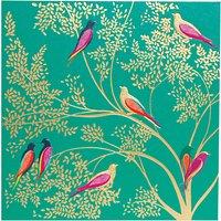 Sara Miller Birds In Tree Greeting Card