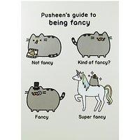 Pusheen Fancy Greeting Card