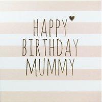 Belly Button Designs Happy Birthday Mummy Greeting Card