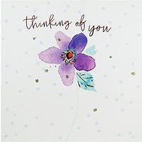 Belly Button Designs Thinking Of You Greeting Card
