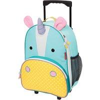 Skip Hop Zoo Rolling Luggage, Unicorn