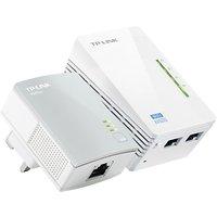 TP-LINK 300Mbps AV600 Powerline Extender Starter Wi-Fi Kit, TL-WPA4220 KIT V1.20