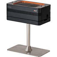 everdure by heston blumenthal FUSION Electric Ignition Charcoal BBQ With Pedestal, Graphite