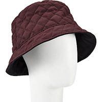 John Lewis Quilted Waxed Bucket Rain Hat