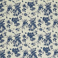Viscount Textiles Rose Chambray Print Fabric