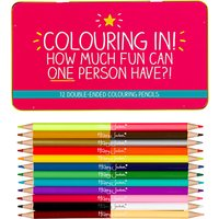Happy Jackson Colouring In! Coloured Pencils, Set of 12