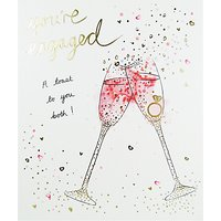 Woodmansterne Youre Engaged Greeting Card