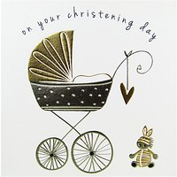 Belly Button Designs Christening Greeting Card