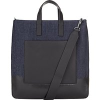 DKNY Denim Dip Dye Tote Bag, Blue