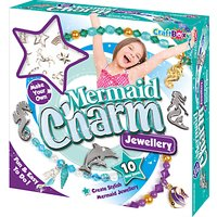 Craft Box Make Your Own Mermaid Charm Jewellery Set
