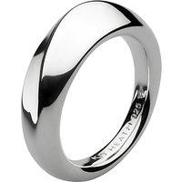Kit Heath Bevel Wave Ring, Silver