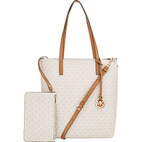MICHAEL Michael Kors Hayley Large Leather North / South Tote Bag