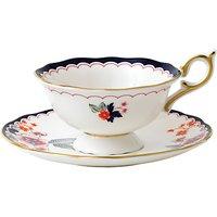 Wedgwood Wonderlust Jasmine Bloom Cup And Saucer, Multi, 180ml