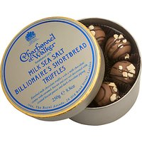 Charbonnel Et Walker Milk Seasalt Billionaire's Shortbread Truffles, Box Of 16, 250g