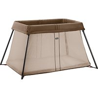 BabyBjrn Travel Cot Light, Brown