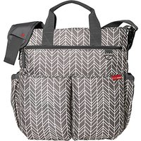 Skip Hop Duo Signature Changing Bag, Grey Feather