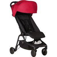Mountain Buggy Nano Stroller, Ruby Red