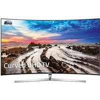 Samsung UE55MU9000 Curved HDR 1000 4K Ultra HD Smart TV, 55 with Freeview HD/Freesat HD, Dynamic Crystal Colour & 360 Design, Silver